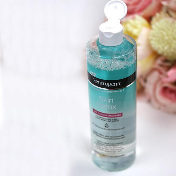 پاک کننده نوتروژینا Skin Detox میسلار واتر
